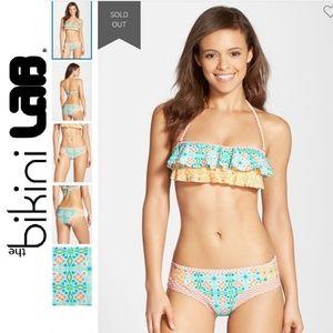 NWT Bikini Lab Hipster Bikini Bottoms L